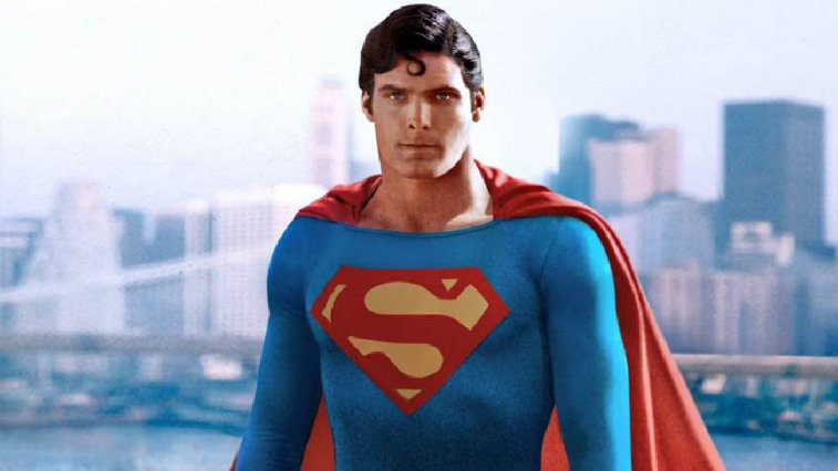Christopher Reeve in Superman: The Movie