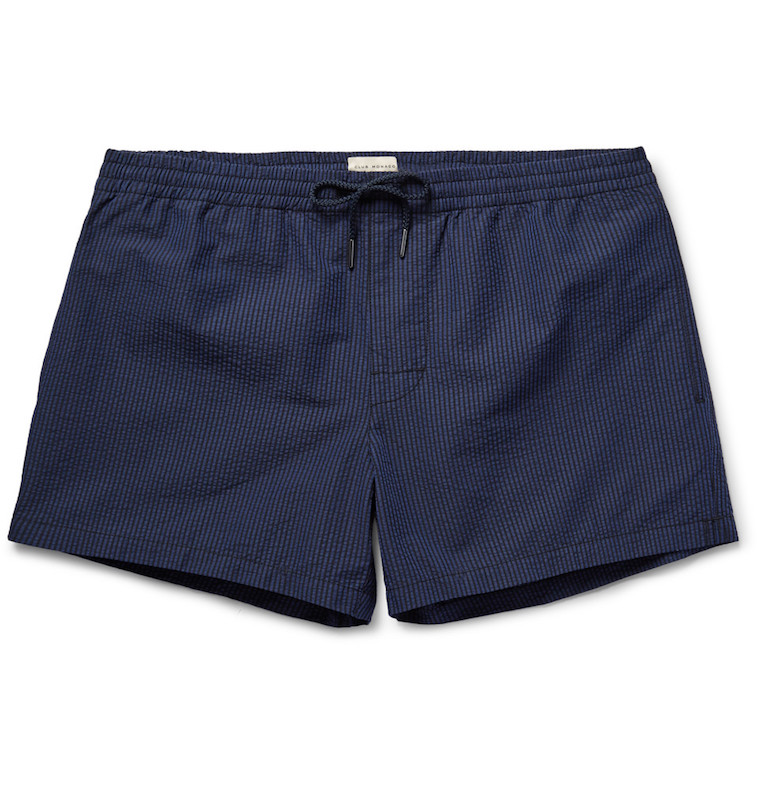 Club Monaco cotton-blend swim trunks at Mr. Porter
