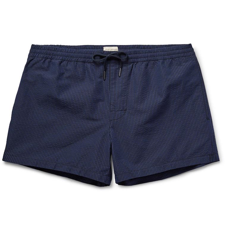 Club Monaco cotton-blend swim trunks at Mr. Porter