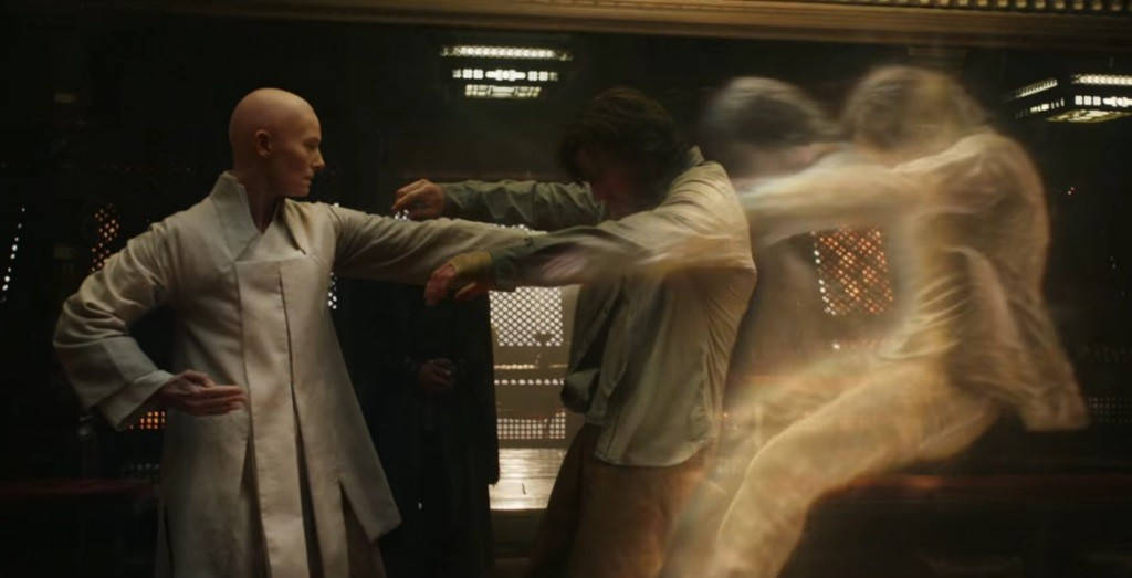 Tilda Swinton as the Ancient One in Doctor Strange - Marvel