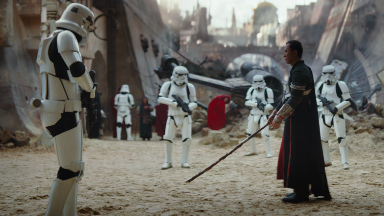 Donnie Yen in Rogue One: A Star Wars Story