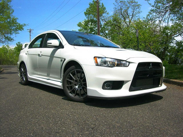 Mitsubishi Evolution Final Edition