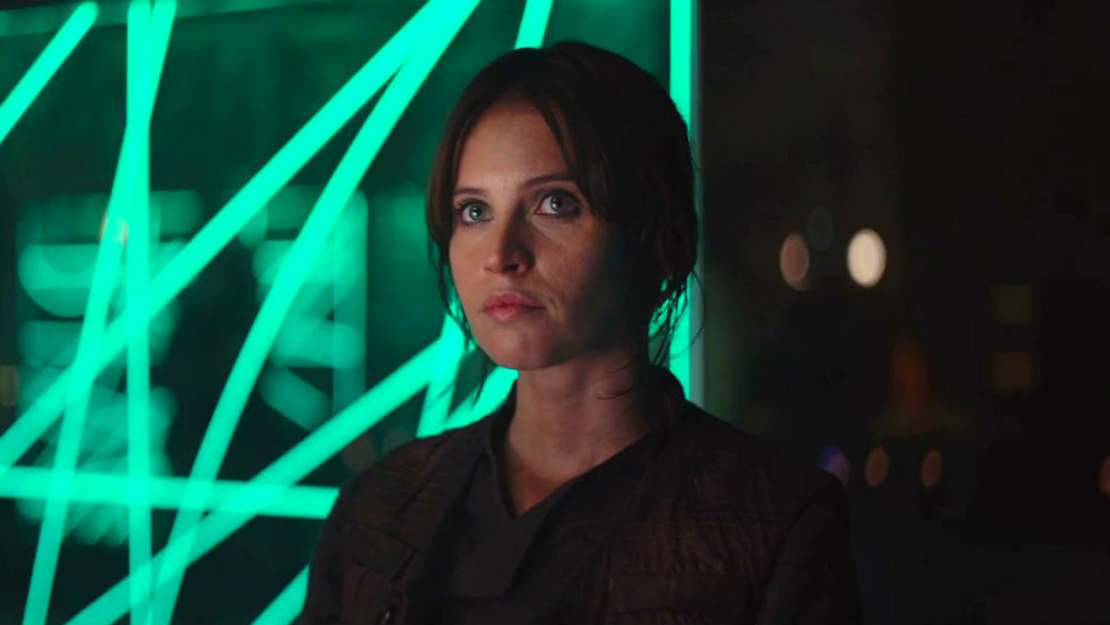 Felicity Jones as Jyn Erso in Rogue One