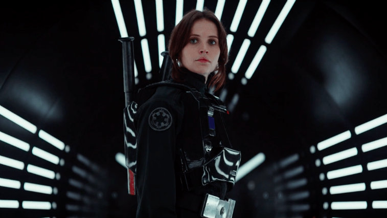 Felicity Jones in Rogue One: A Star Wars Story