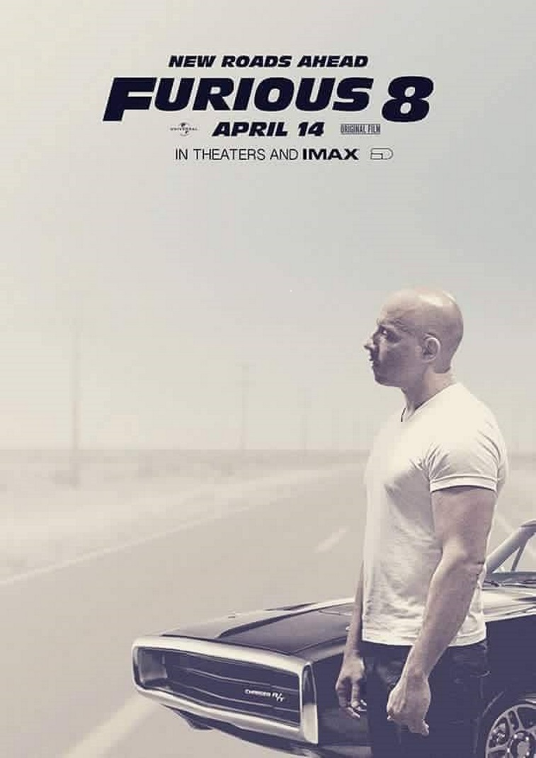 Furious 8 - Vin Diesel