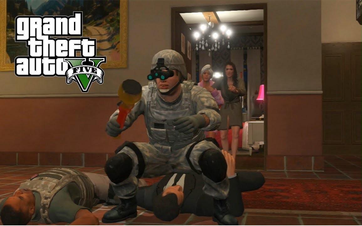 GTA V, video games