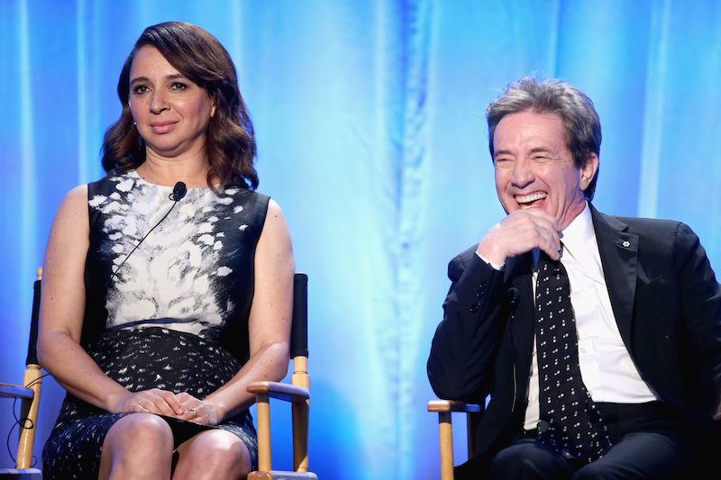 Maya Rudolph, Martin Short | Frederick M. Brown/Getty Images