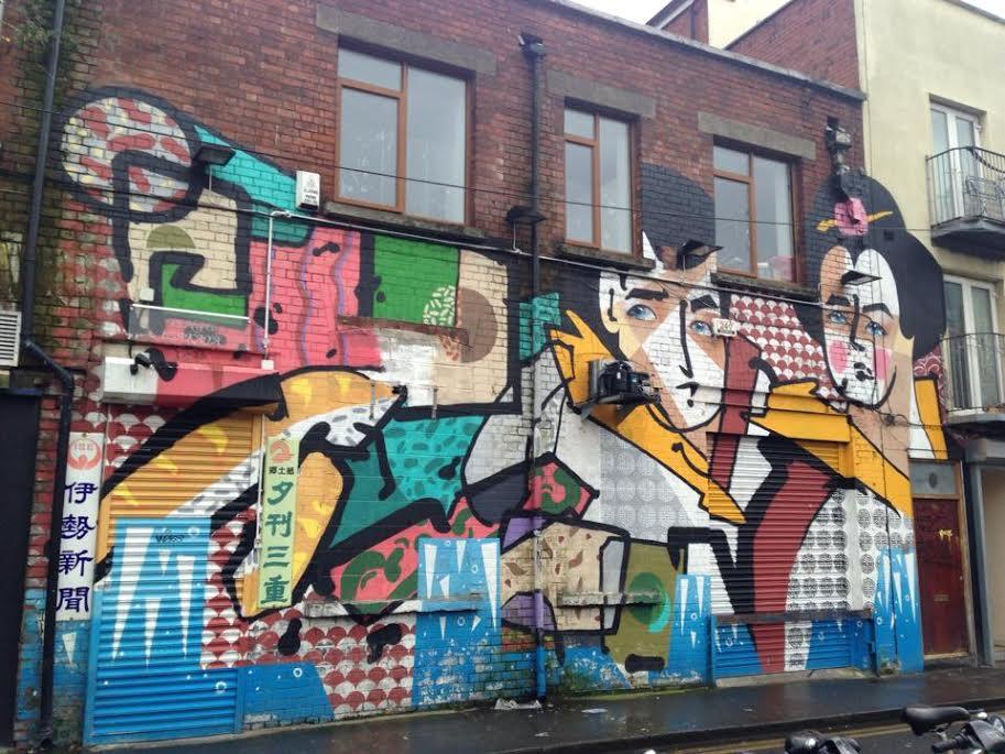 graffiti in Dublin