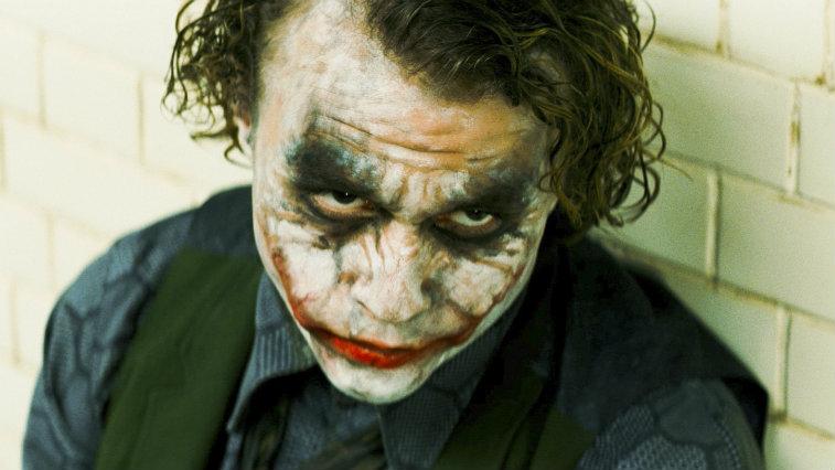 Heath Ledger in The Dark Knight