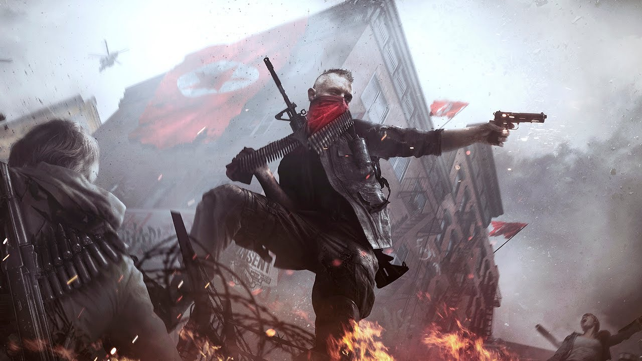 A U.S. rebel fights off Korean occupiers in this open-world shooter. Homefront: The Revolution