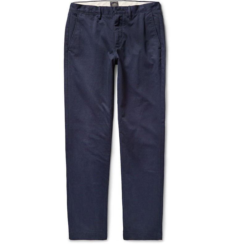J.Crew slim-fit chinos at Mr. Porter
