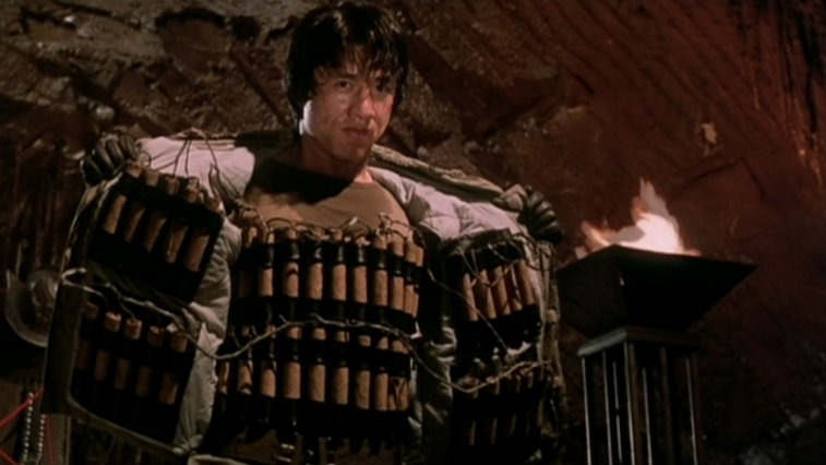 Jackie Chan in Armour of God