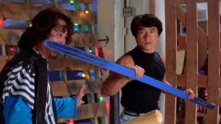 Jackie Chan in Rumble in the Bronx