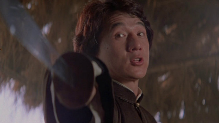 Jackie Chan in The Legend of Drunken Master
