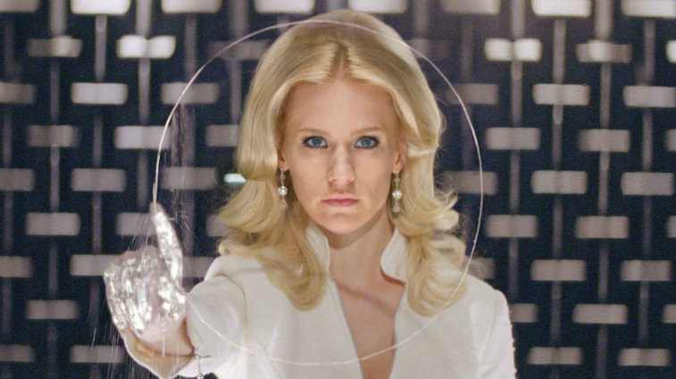 January Jones in X-Men: First Class
