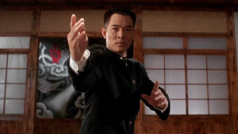 Jet Li in Fist of Legend