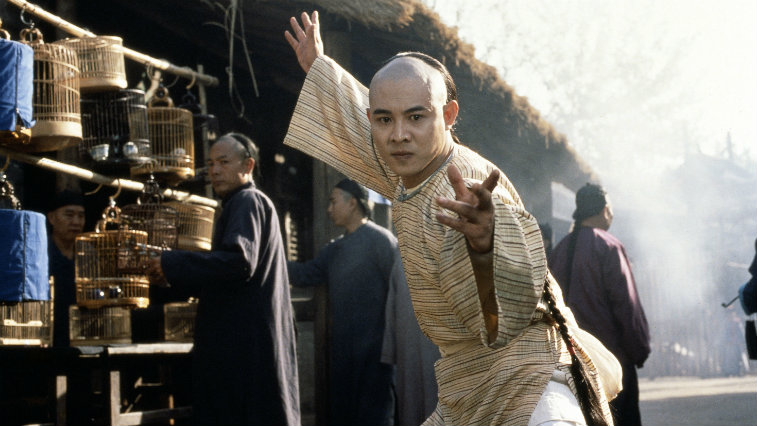 Jet Li in The Legend