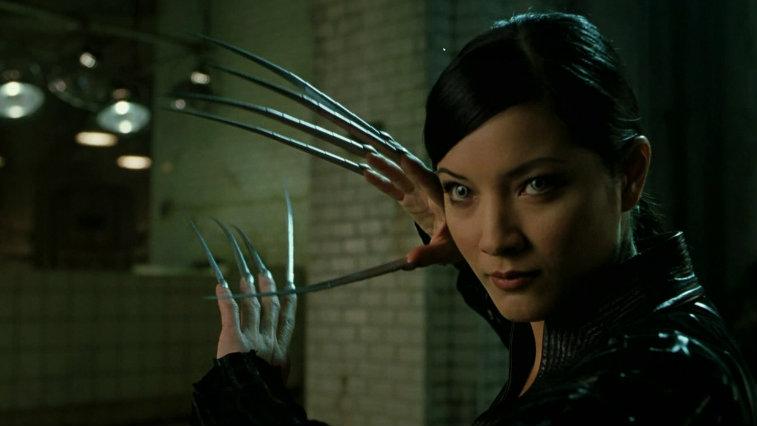 Kelly Hu in X2: X-Men United