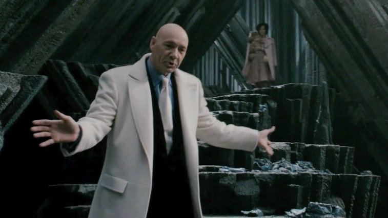 Kevin Spacey in Superman Returns
