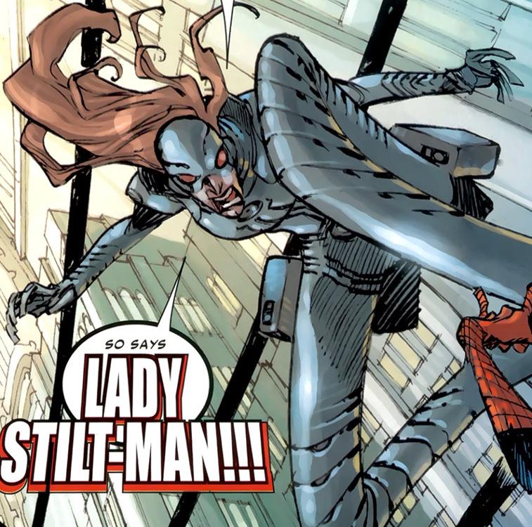 Lady Stilt Man