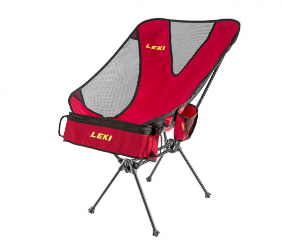 LEKI Folding Camp Chair with Cooler