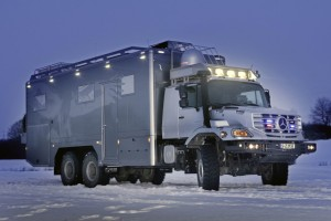 World's Most Badass RV: The Mercedes-Benz Zetros 2733 A 6×6