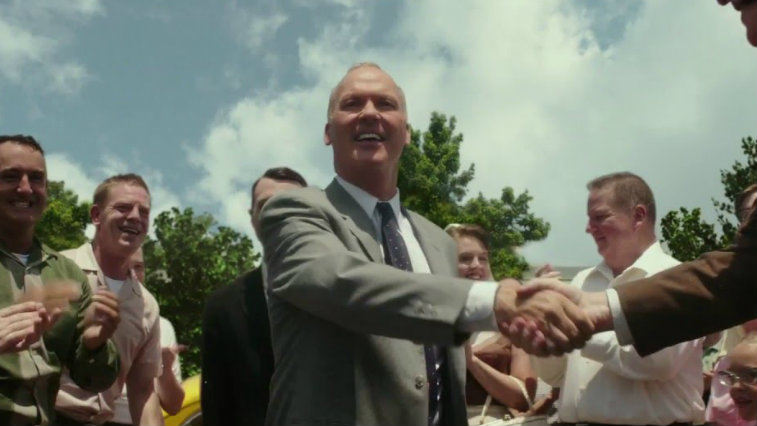 Michael Keaton in The Founder