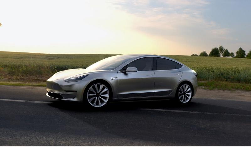 Model 3 gray field