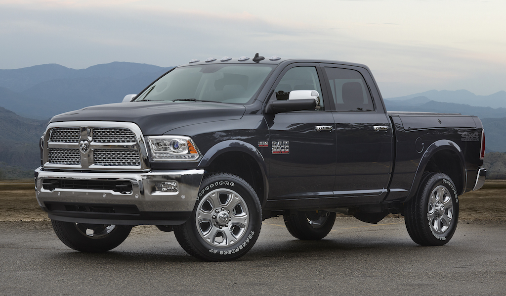 2017 Ram 2500 Crew Cab with 4x4 Off-road package