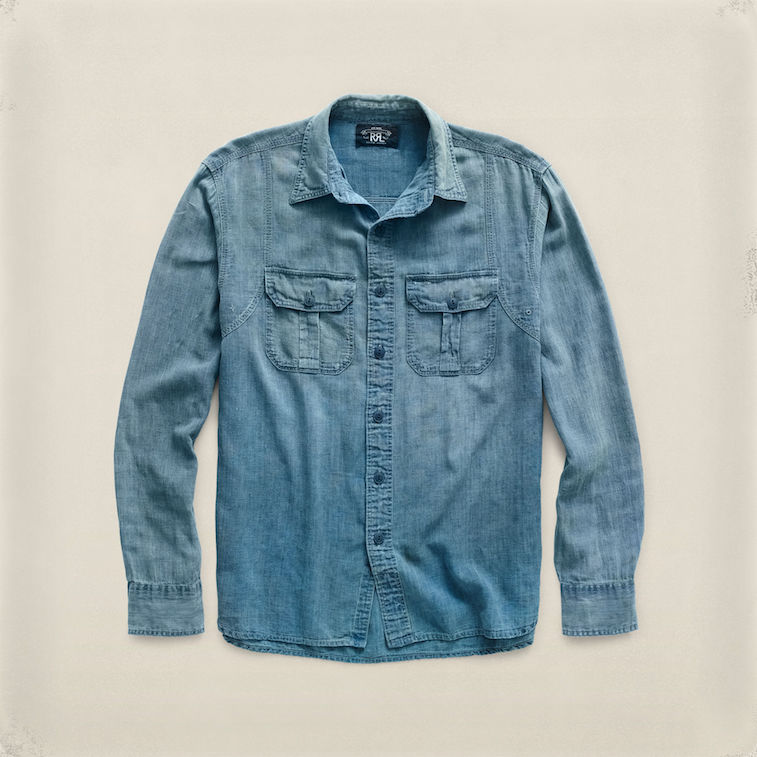 RRL indigo workshirt