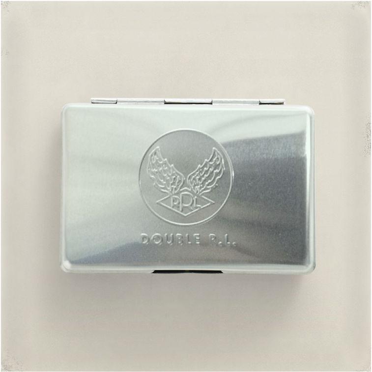 RRL metal card case