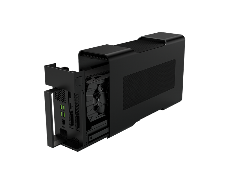 The Razer Core enclosure for Thunderbolt 3