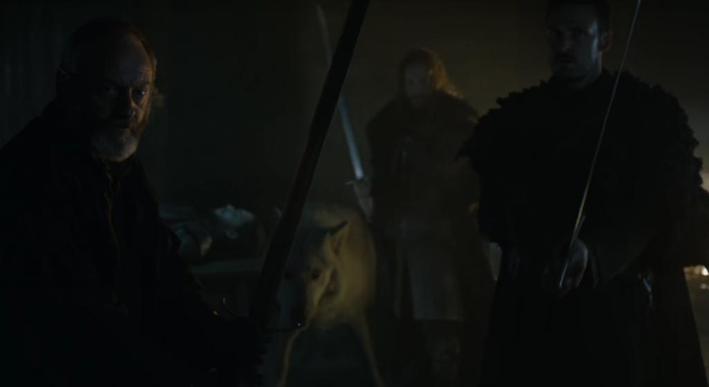 Davos and Jon Snow - Game of Thrones Season 6 Trailer