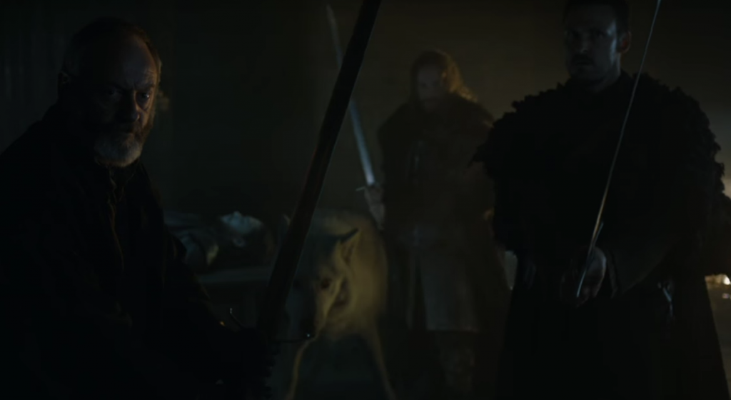 Davos and Jon Snow - Game of Thrones Season 6 Trailer