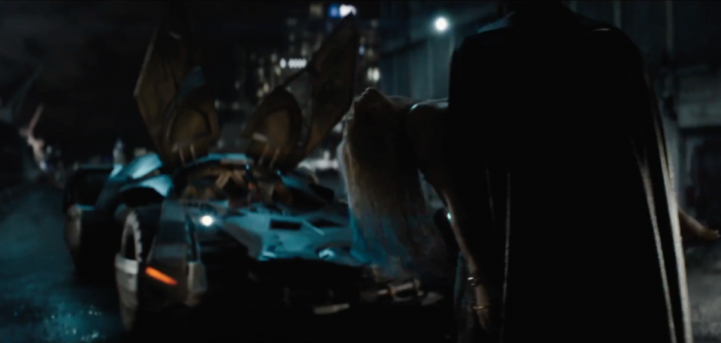 Batman in the third Suicide Squad trailer - DC and Warner Bros.