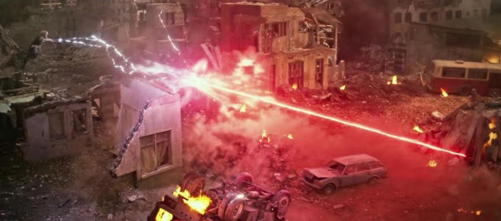 Cyclops and Storm in X-Men: Apocalypse