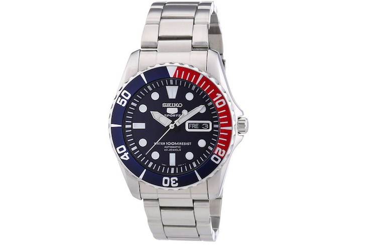 Seiko 5 dive watch from Amazon
