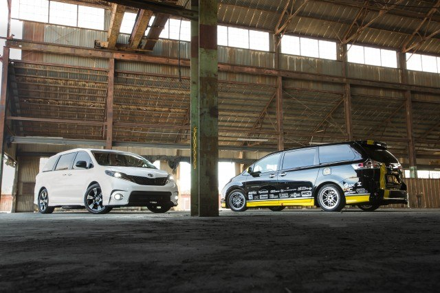 Toyota Sienna SE and custom R-Tuned version