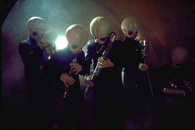 The cantina band in Star Wars