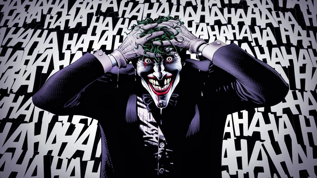 The Joker from DC Comics' The Killing Joke