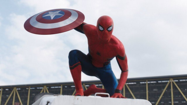 Tom Holland in 'Captain America: Civil War'.