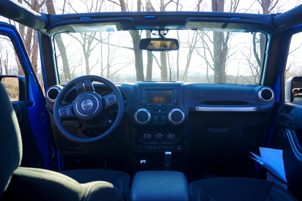 Interior. 2016 Jeep Wrangler Sahara