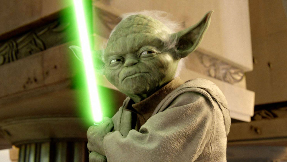 Yoda in Star Wars Revenge of the Sith