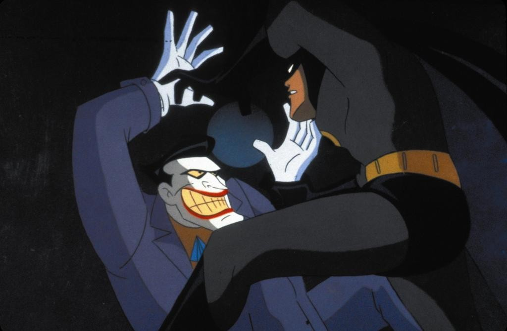 Batman and the Joker from Batman the Animated Series