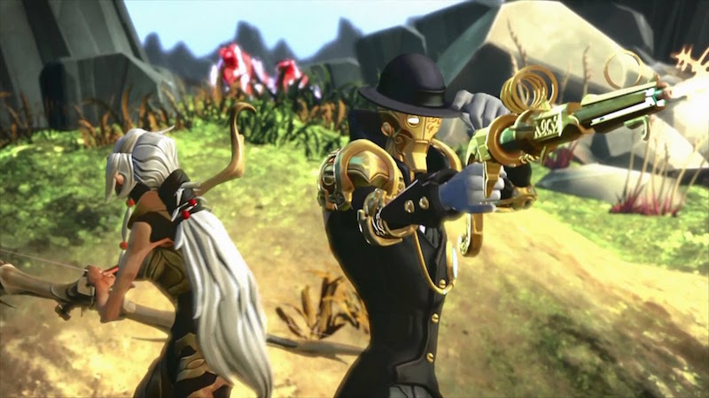 Heroes from Battleborn shoot it out against universe-destroying enemies.