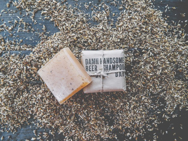 Damn Handsome Grooming Co. Beer Shampoo and Body Bar