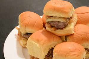 Try This Ballpark-Inspired Recipe: Bratwurst Sliders