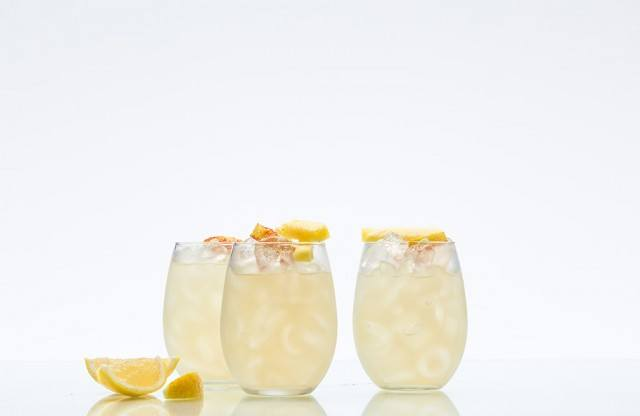 lighter take on a margarita called a cleanse-a-rita