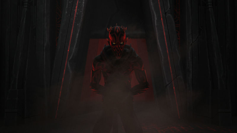 Darth Maul returns at the end of Rebels' second season