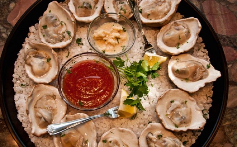Ceramic oyster shells